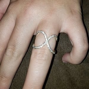 Size 7 sterling silver ring from Belk